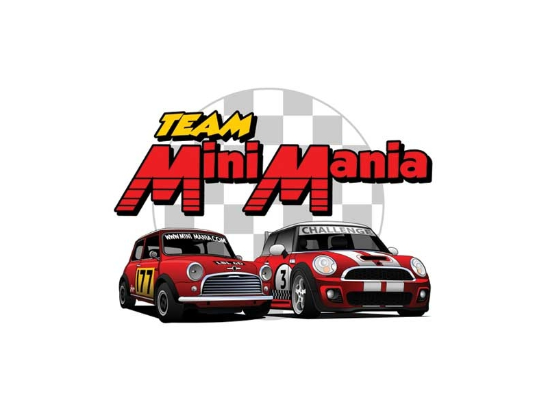 T-shirt Team Mini Mania Xxl - Mini Cooper & S