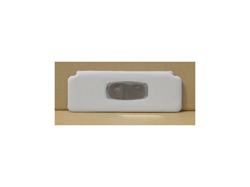 Mini Sunvisor Passenger 1970-2000, White Both Sides