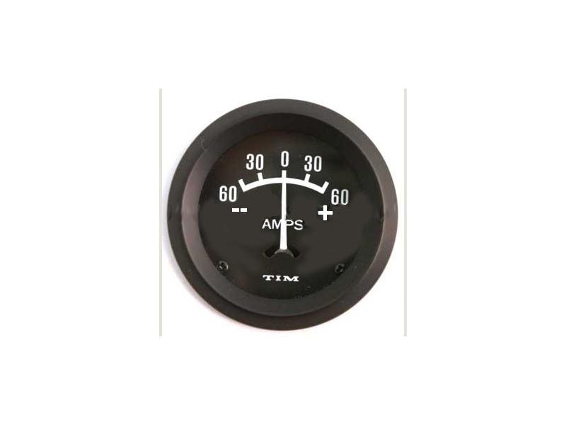 Classic Mini Amp Meter Gauge For Alternator 0-60 A