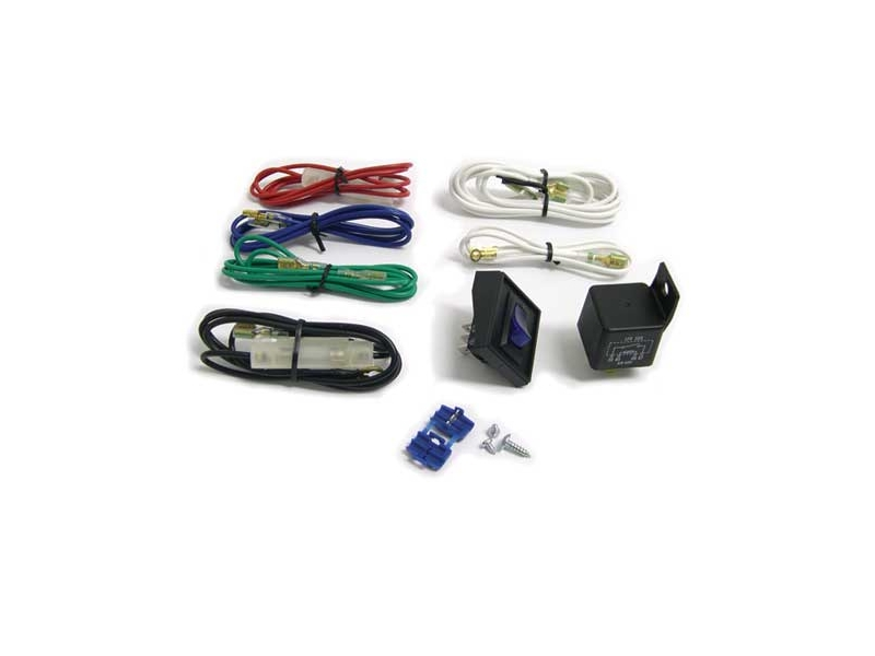 Mini Cooper Auxiliary Lighting Switch And Relay Kit