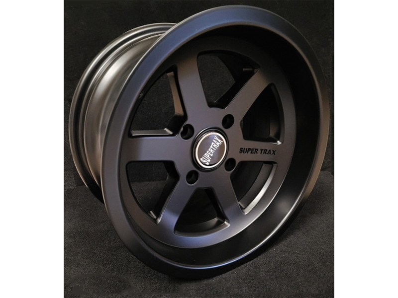 7 X 13 Super Trax Wheel In Satin Black