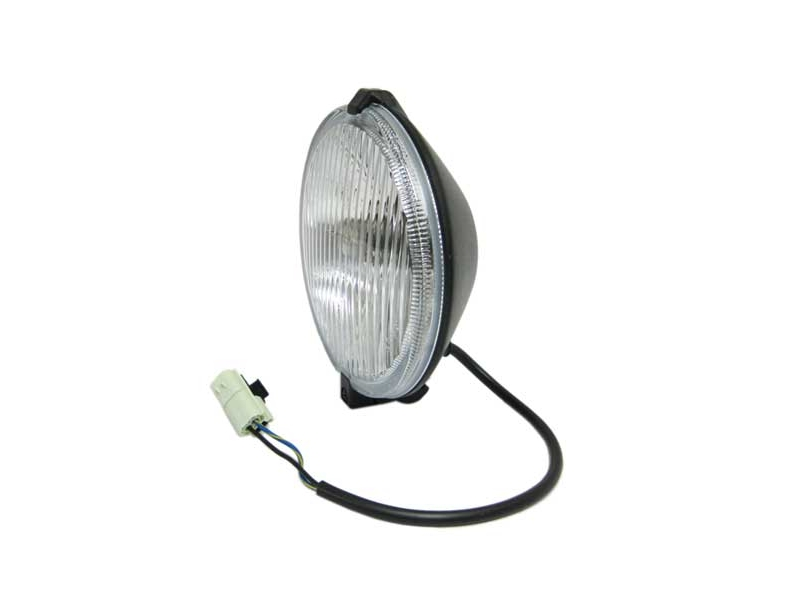 Classic Mini-fog Lamp Oem With Plug To Loom 1990 And Later