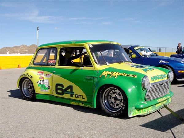 Mini Cooper For Sale >> Mini Mania sponsered MINCOMP MINI competes in SCCA ...