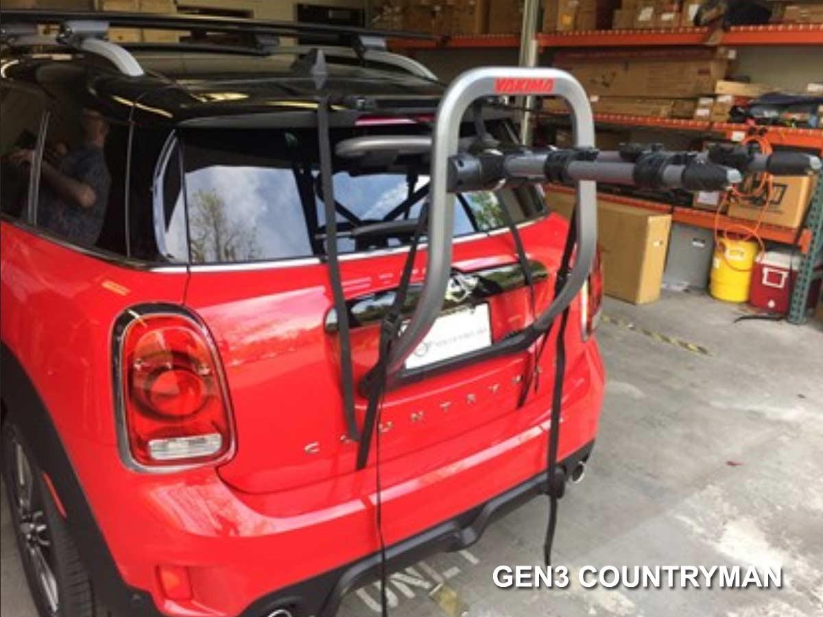 Used Mini Cooper Countryman >> Mini Cooper Bike Rack Yakima Fullback3 3-bike Hard