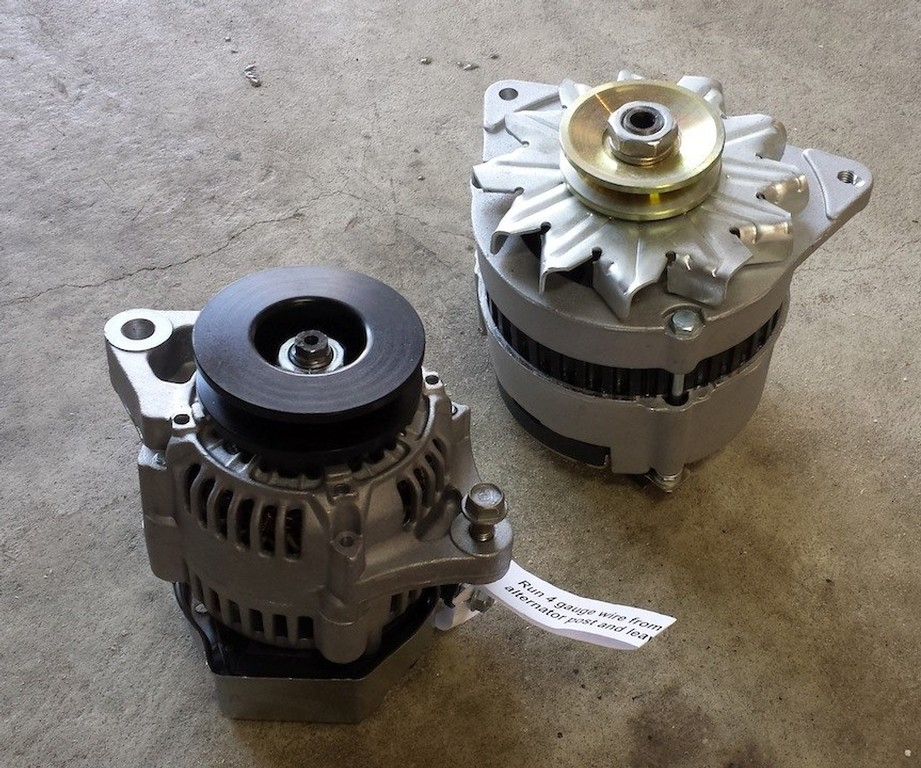 Do They Make A High Amp Alternator For The Classic Mini